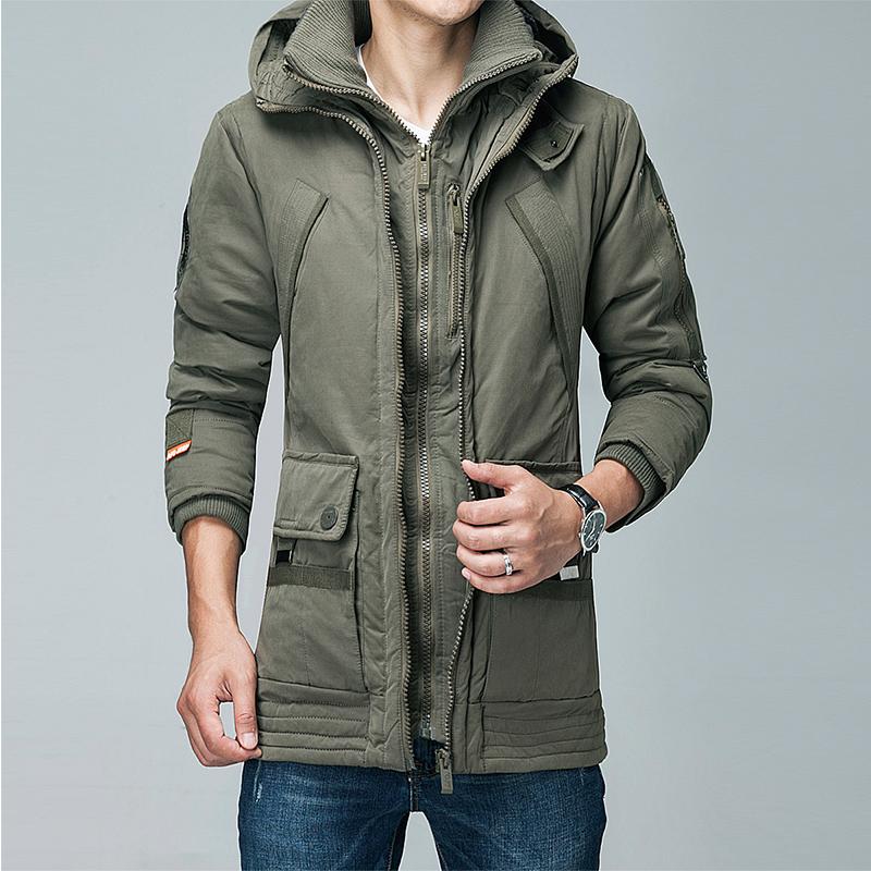 [해외]긴 겨울 자켓 남성 브랜드 의류 남성 가을과 겨울 코트 파우더 남성 아래로 새로운 상위 품질 오리/Long Winter Jacket Men Brand Clothing Male down Autumn and winter Coat New Top Quality duck