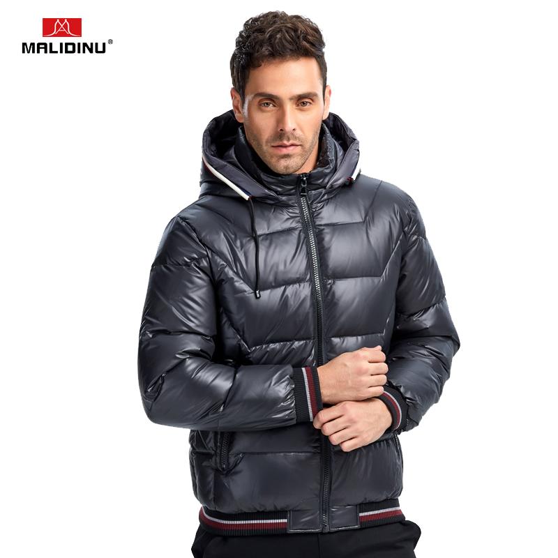 [해외]MALIDINU 2017 남성 라이트 다운 재킷 겨울 자켓 다운 코트 파카 70 % 화이트 오리 짙은 후드 자켓 브랜드/MALIDINU 2017 Men Light Down Jacket Winter Jacket Down Coat Parka 70%White Duck