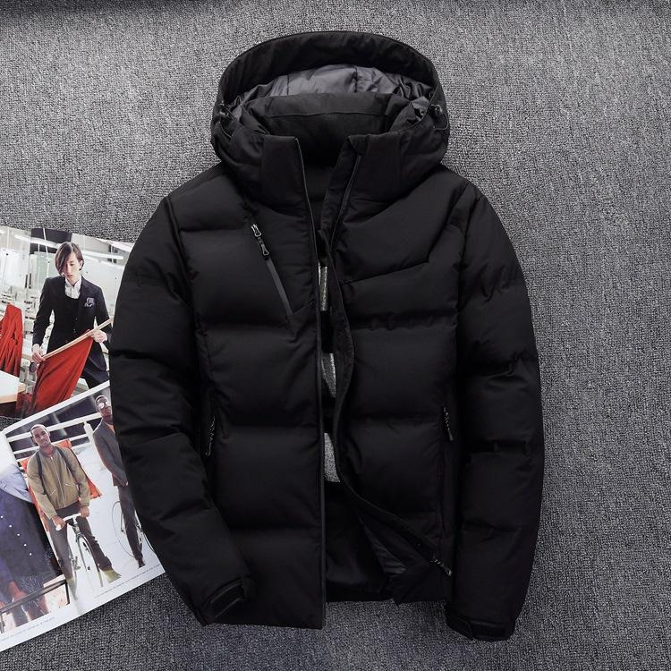 [해외]2017 겨울 다운 재킷 남자 새 하얀 오리 다운 코트 후드 최고 품질의 브랜드 의류 긴 남성 파카 아래로/2017 winter Down Jacket Men New white duck down coat Hooded Top quality brand clothing