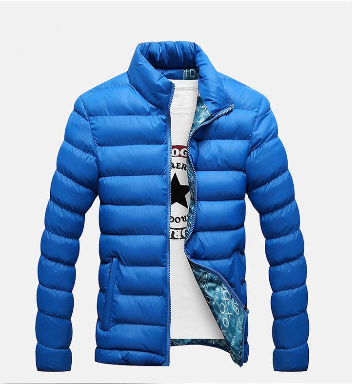 [해외]남성 재킷 2017 새로운 두꺼운 재킷 남자 caots 패션 지퍼 스탠드 칼라 남성 겨울 재킷 아래로 코트/Men down jacket 2017 new Thicken jacket men caots fashion zipper stand collar men wint