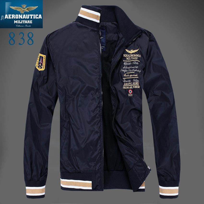 [해외]Aeronautica 밀리터리 에어 포스 원 재킷 jaqueta, mens causal brand 자수 비즈니스 재킷, 폭탄 재킷 폴로 재킷 mens Z/Aeronautica military Air Force One jacket jaqueta,mens causa