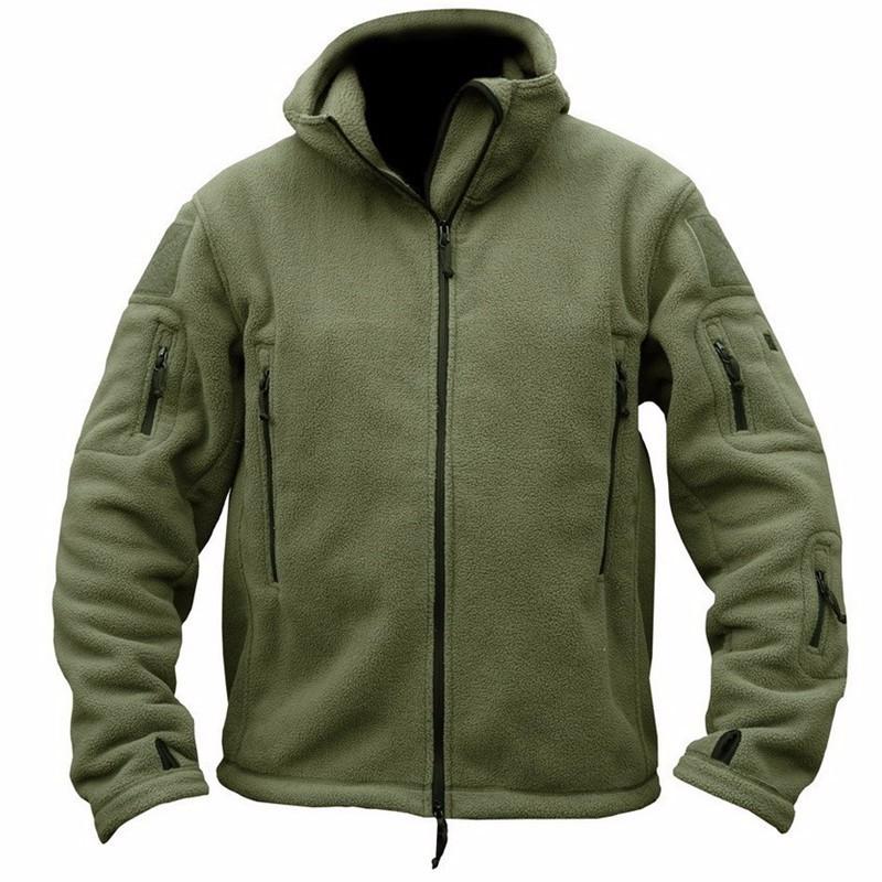 [해외]겨울 밀리터리 전술 양 털 자 켓 남자 따뜻한 폴라 육군 옷 여러 포켓 겉 옷 캐주얼 열 까마귀 코트 자 켓/Winter Military Tactical Fleece Jacket Men Warm Polar Army Clothes Multiple Pocket Ou