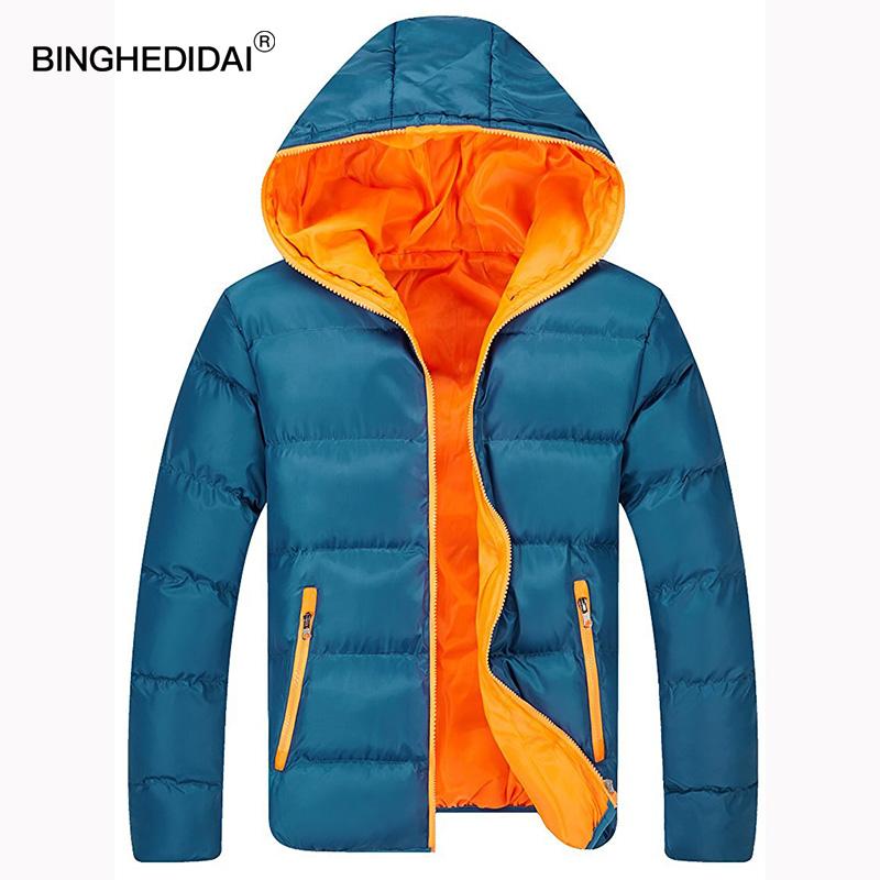 [해외]커플 겨울 자켓 망 네오 지퍼 겨울 후드 퍼프 재킷 일원 코트 코튼 패딩 후드/Couple winter jacket mens neo zipper winter hooded puffer jacket uniwinter coat cotton padded hooded