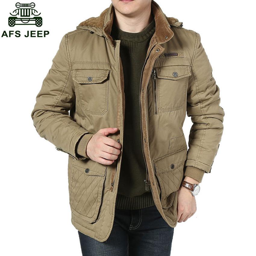 [해외]뜨거운 AFS JEEP 상표 남자 & s면 파키스탄 재킷 캐주얼 두꺼운 남자 겨울 재킷 재킷 코트 플러스 크기 D188/Hot AFS JEEP Brand Men&s Cotton Parka Jacket Casual Thick Men Winter Outwea