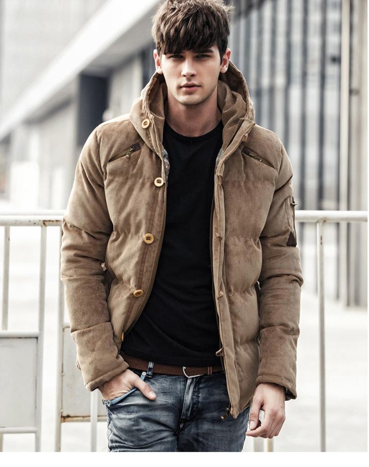 [해외]Hotsale 두꺼운 패딩 Gentmen 겨울 자켓 남자 겨울 코트 플러스 크기 3XL 공장 1 조각 Dropship/Hotsale Thick Padded Gentalmen Winter Jacket Men Winter Coats Plus Size 3XL Fact