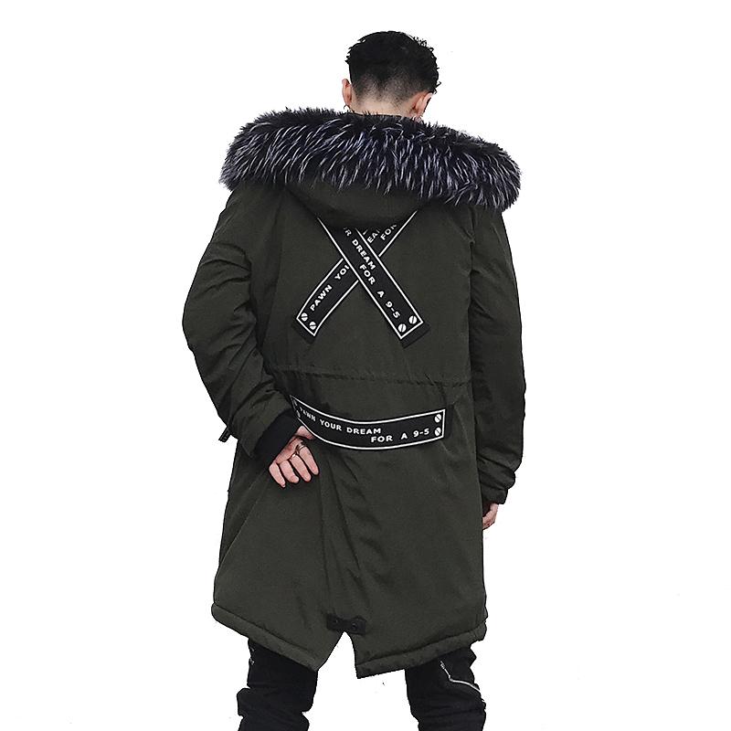 [해외]DropShipping 2018 새로운 겨울 재킷 롱 코튼 남성 후드 코트는 따뜻한 아우터웨어를 유지 브랜드 공원 의류 미국 SIZE L151/DropShipping 2018 New Winter Jacket Long Cotton Men Hooded Coats K