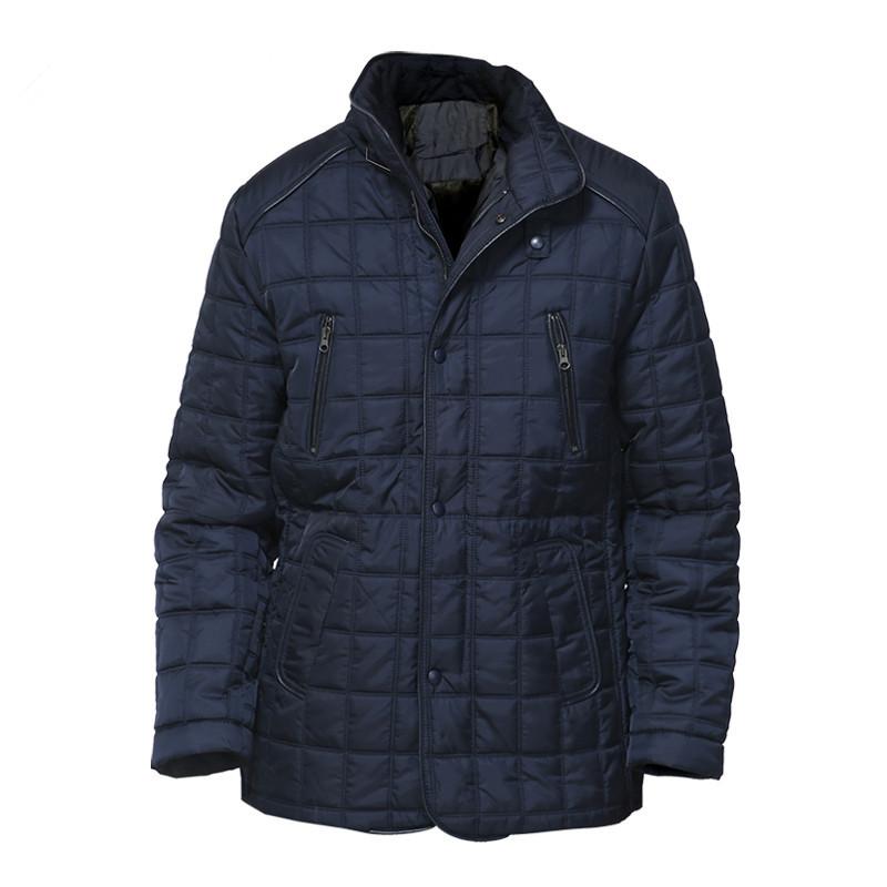 [해외]DAFEILI 2018 겨울 따뜻한 캐주얼 남성 롱 코트 패딩 플러스 사이즈 파카 네이비 블랙 패딩 퀼트 자켓 퍼 라이닝/DAFEILI 2018 Winter Warm Casual Men long Coat Padded Plus size Russia Parka Na