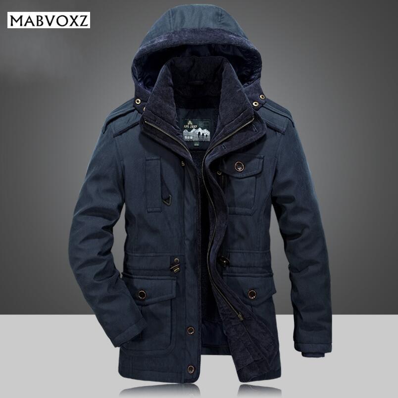 [해외]겨울 -30도 눈 온난 한 두꺼운 남자 파커 POLYESTER SHERPA AFSJEEP 상표 Mens 재킷 및 외투 chaquetas hombre 천/Winter -30 Degree Snow Warm Thick Men Parkas POLYESTER SHERPA
