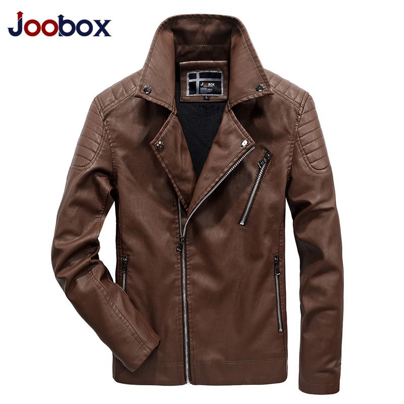 [해외]JOOBOX 2017 신사복 가죽 자켓 chaqueta cuero hombre 영국 클래식 캐주얼 오토바이 가죽 자켓 플러스 사이즈 L-5XL/JOOBOX 2017 New Men leather jackets coats British classic casual m