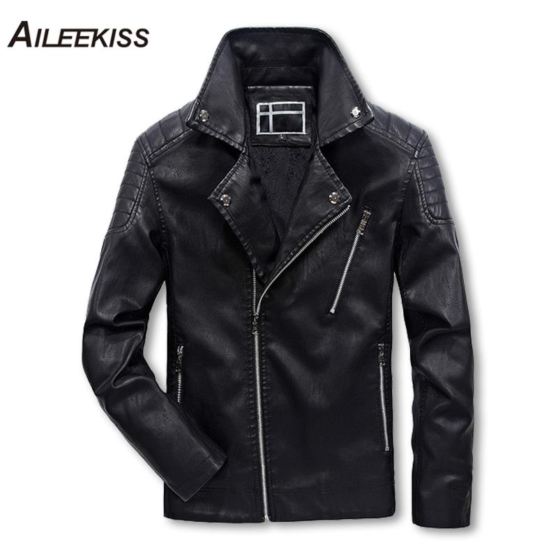 [해외]2018 남자 & 오토바이 가죽 자 켓 남자 쿨 짧은 가죽 자 켓 코 튼 겨울 남자 따뜻한 코트 남성 폭탄 파일럿 자 켓 XT466/2018 Men&s Motorcycle Leather Jacket Men Cool Short Leather Jackets