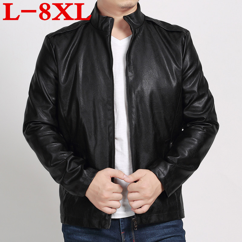 [해외]2018 플러스 사이즈 8XL 7XL 6XL 5XL 새 가죽 재킷,  가죽, 양모, 오토바이 남성 코트, 가죽 자켓 남성, 바이커 자켓/2018 Plus size 8XL 7XL 6XL 5XL new leather jacket,Genuine Leather,Shee