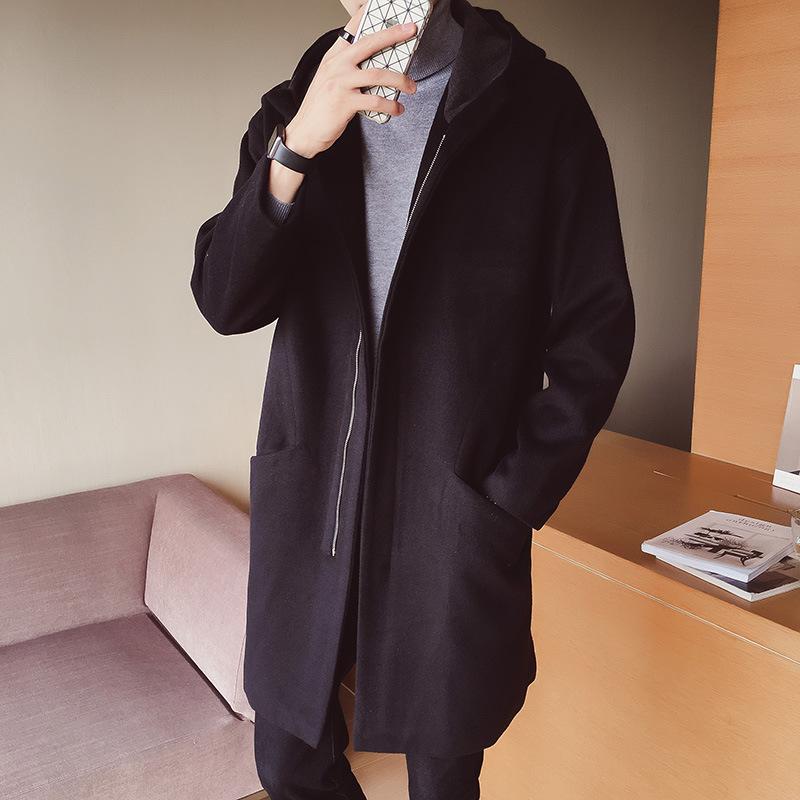 [해외]남성 케이프 코트 롱 맨 플러스 사이즈 남성 특히 남성용 자켓 겨울 캐주얼 가을 솔리드 슬림 남성 6Xl for Pea f33/Men Cape Coat Long Man Plus Size Mens Especially Masculine Jacket Winter Ca