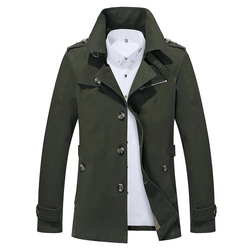 [해외]2018 년 봄 패션 남자 & s 코트, 느슨한 롱 트렌치, 대형 고품질의 단색 남자 & S 트렌치 S-5XL/2018 Spring Fashion Men&s Coat, Loose Long Trench ,  Large size High-quality