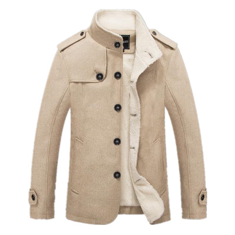 [해외]Bolubao 새로운 남자 모직 혼합 패션 겨울 자 켓 남자 양 털 늘어서 오버 코트 남성 울 코트 Peacoat Sobretudo Masculino/Bolubao New Men Woolen Blends Fashion Winter Jacket Men Fleece