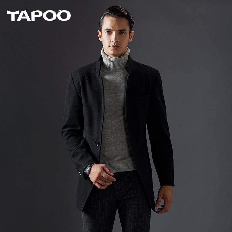 [해외]TAPOO 브랜드 의류 2017 가을과 겨울 남성 & s 모직 의류 칼라 남자 & s 코트 윈드 스포츠 용 양모 모직 의류 728/TAPOO brand clothing 2017 autumn and winter men&s woolen clothing