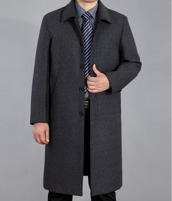 [해외]M - 4XL HOT 2017 봄 남성 & s의 새로운 패션 중간 모직 코트 긴 섹션 모직 코트 재킷 대형 siz/M-4XL HOT 2017 Spring Men&s New Fashion Middle-aged woolen coat long section w