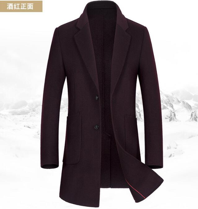 [해외]M-2XL HOT 2017 동계 남성의 새로운 패션이 하나의 도덕성을 길러줍니다. 양면 수 놓은 코트의 긴 양면 코트/M-2XL HOT 2017 Winter Men&s New Fashion Of Cultivate One&s Morality Double-sided