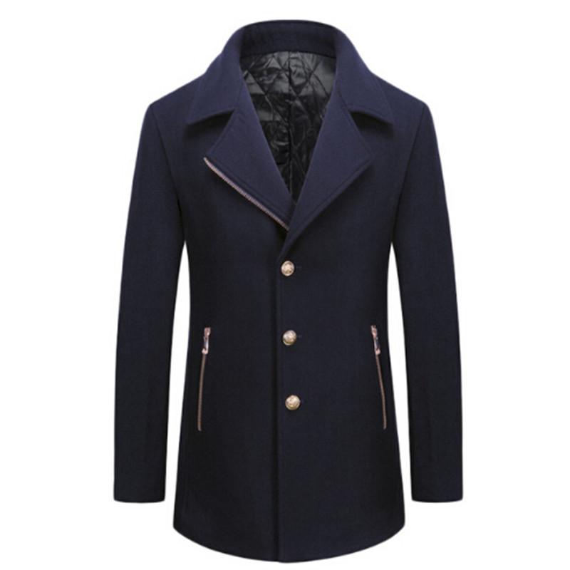 [해외]?57 % 메리노 울 코트 2018 브랜드의 새로운 겨울 레저 남성 & 양모 코트 코트 외투 Changfeng 남자 컨베이어/ 57% Merino wool coat 2018 brand new winter leisure men&s wool coat coat