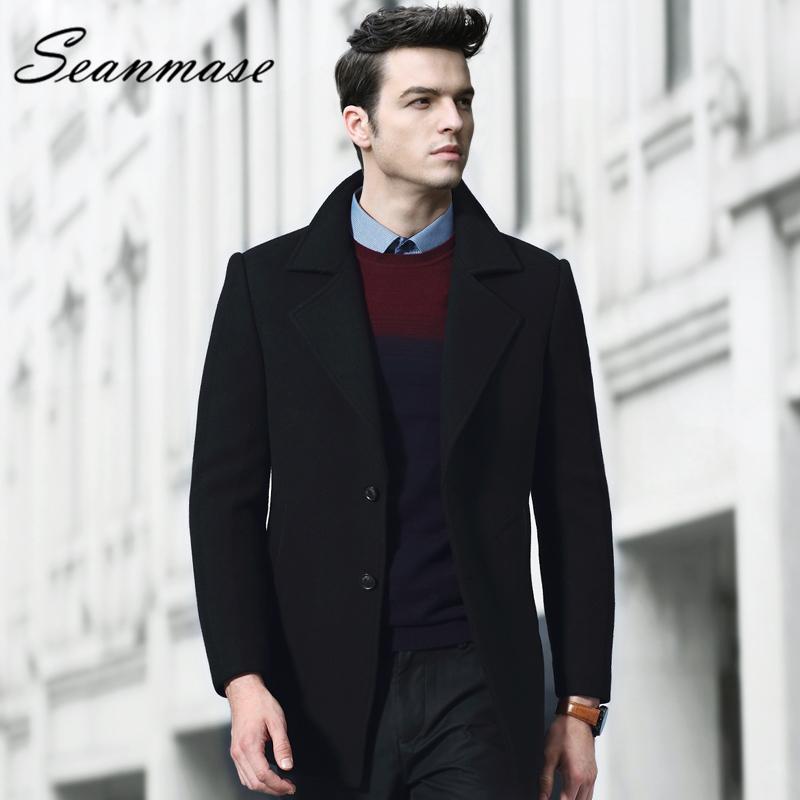 [해외]2018 Merino Wool 겨울 울 코트 남성 Thickening Parkas Man 브랜드 2018 ZZ076/2018   Merino Wool Winter Wool Coat Men Thickening Parkas Man Brand 2018  ZZ076