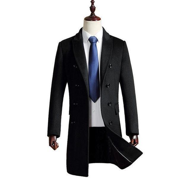 [해외]남자 양모 코트/Men&s wool coat