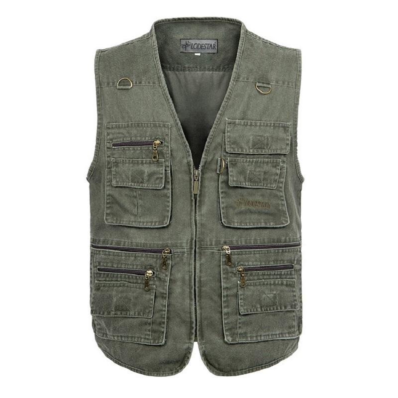[해외]특대 5XL 다기능 남자 VestMany 포켓 빠른 드라이 민Retail 양복 여행 의류 사진 조끼/Oversize 5XL Multifunction Men VestMany Pockets Quick Dry Sleeveless Waistcoat Travel Clot