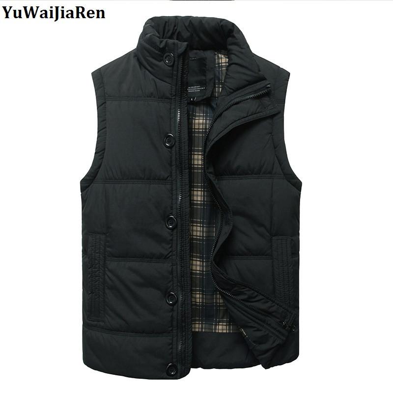 [해외]YuWaiJiaRen 두꺼운 코튼 조끼 남자 & 세련된 패딩 바디 워머 퍼 퍼 조끼 액티브 바디 워머 Gilet/YuWaiJiaRen Thick Cotton Vest Men&s Stylish Padded Body Warmer Puffer Vest Acti