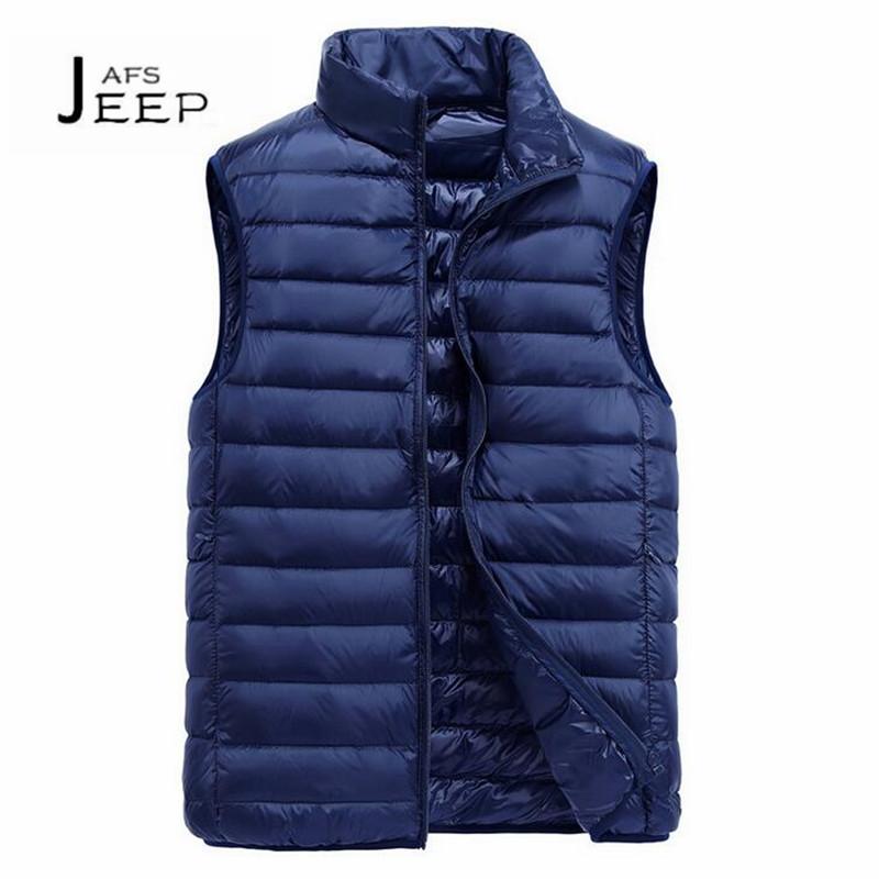 [해외]JI PU 3XL to M 남자 & s 스탠드 칼라 Retail 슬리퍼 blajco abajo 두께 조끼, 겨울 2017 Solid Keep Warmly Waistcoat brand/JI PU 3XL to M man&s Stand Collar Sleeve