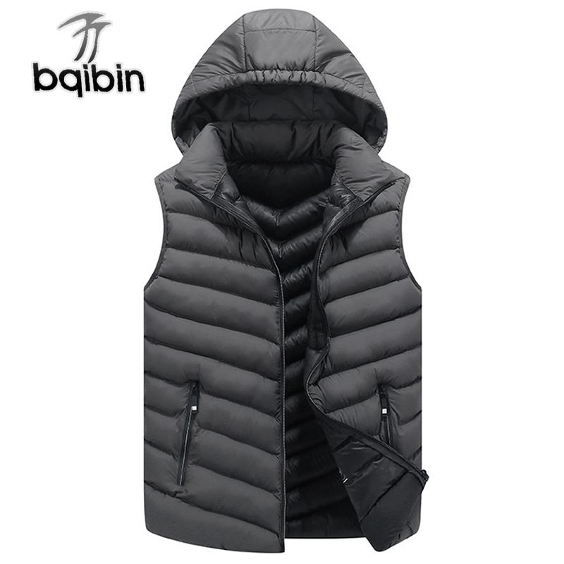 [해외]2018 New Mens Jacket 민Retail 조끼 겨울 패션 캐주얼 코트 남성 코튼 패딩 남성 & 조끼 남성용 바지 플러스 사이즈 4XL/2018 New Mens Jacket Sleeveless Vest Winter Fashion Casual Co