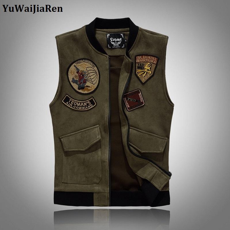[해외]YuWaiJiaRen 조끼 망 데님 조끼 남자 씻어 청바지 조끼 남자 카우보이 빈티지 청바지 민Retail 재킷 육군 녹색 패치/YuWaiJiaRen Vest Mens Denim Vest Male Washed Jeans Waistcoat Man Cowboy Vi