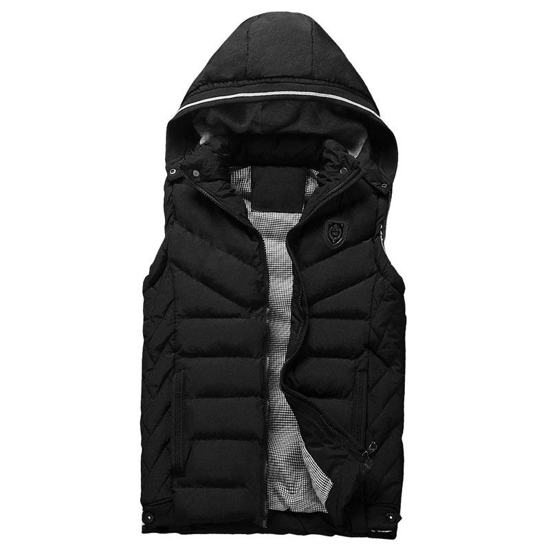 [해외]새로운 브랜드 남성 자켓 코트 민Retail 조끼 Winter Colete Masculino 패션 캐주얼 남성 코튼 패딩 남성 & 조끼 조끼 3XL/New Brand Mens Jacket Coats Sleeveless Vest Winter Colete M