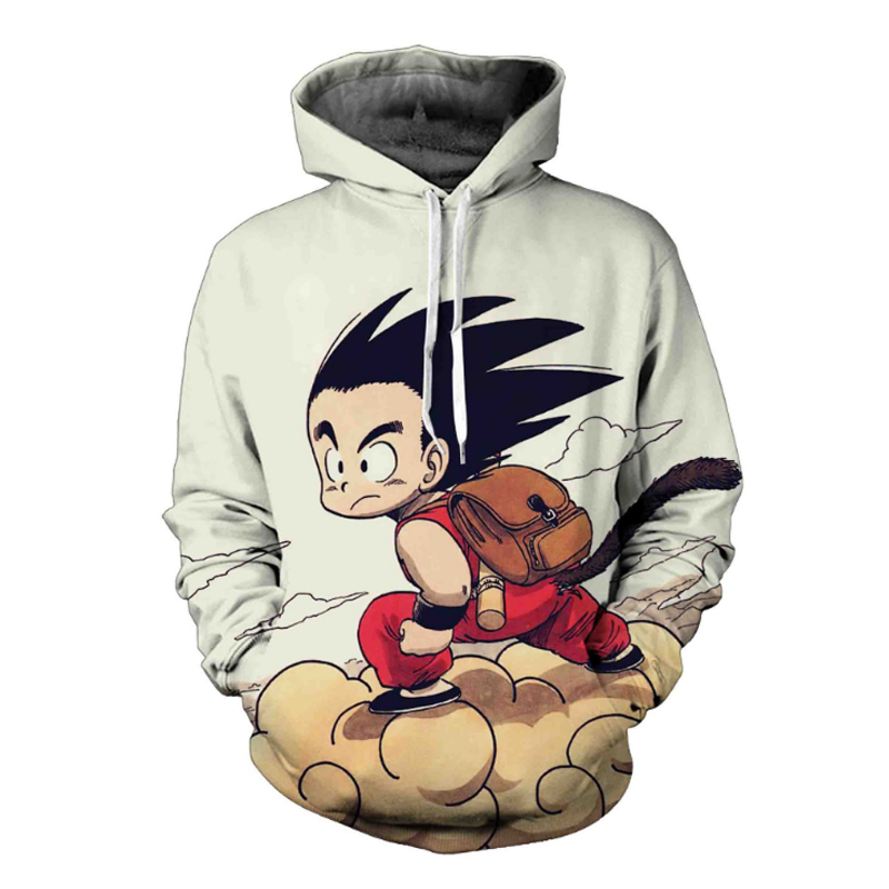 [해외]드래곤 볼 Z 코스프레 Goku Hoodies Men 3D 프린트 풀오버 스웨터 Dragonball Z 까마귀 슈퍼 Saiyan Son Goku Jacket Clothes/Dragon Ball Z Cosplay Goku Hoodies Men 3D Printed