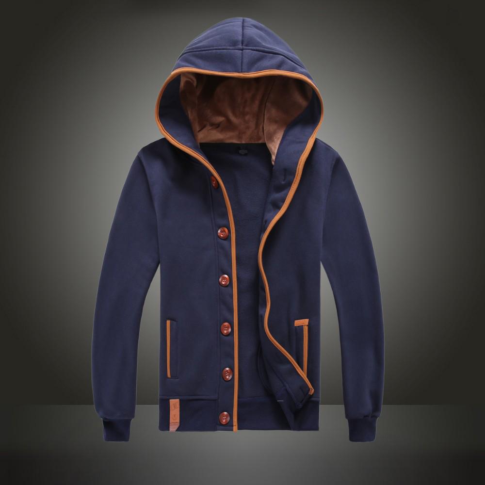 [해외]새로운 남성 Hoody 캐주얼 까마귀 스웨터 코트 카디건/New Men Hoody Casual Hoodie Sweatshirt Coat Cardigan