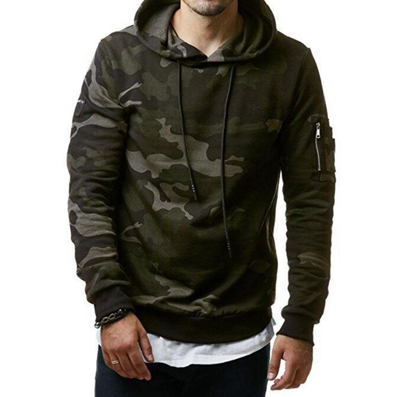 [해외]2018 뉴 Mens 위장과 스웨터 후드 티 스웨터 남성 의류 패션 후드 티 남성용 Hoodie 프린트/2018 New Mens Camouflage Hoodies and Sweatshirts Hooded Sweatshirts Male Clothing Fashio