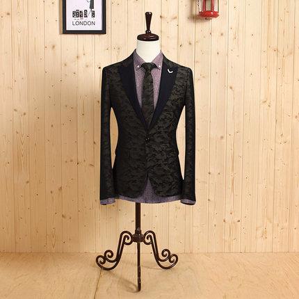 [해외]?2014 신랑 신랑 착용 패션 정장 슬림 한글 스타일 웨딩 비즈니스 정장 남자 블레 이저 카모 연회복 복장/ 2014 New Groom Wear Fashion Formal Slim Korean Style Wedding Business Suit Man Blaze