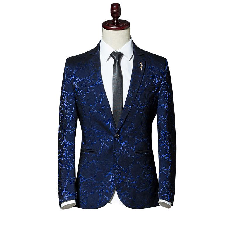 [해외]가을 새로운 캐주얼 남자 & s의 양복 재킷 큰 5XL 블루 레드 블랙 패션 비즈니스 남자 슬림 하 고 우아한 남자 블레 이저 2018 코트/Autumn New Casual Men&s Suit Jackets Large Size 5XL Blue Red Bl