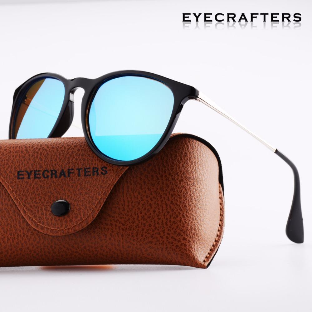 [해외]Eyecrafters 브랜드 디자이너 Polarized Sunglasses Womens Retro 빈티지 고양이 눈 선글라스 여성 패션 Mirrored Eyewear 4171/Eyecrafters Brand Designer Polarized Sunglasses