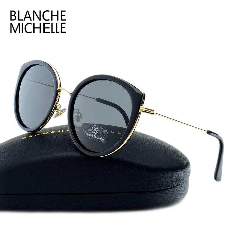 [해외]2017 캐터필라 아이 편광 선글라스 여성 브랜드 UV400 썬 안경/2017  Cat Eye Polarized Sunglasses Women Brand Designer UV400 Sun Glasses For Driving Mirror Pink OutdoorBo
