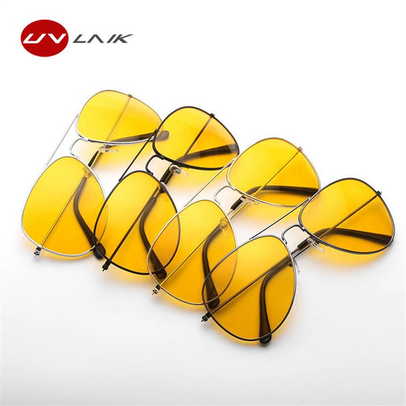 [해외]UVLAIK 운전사 야간 운전 선글라스 남자 여자 UV400 음영 파일럿 선글래스 남성 여성 야간 투시경 고글 선글라스/UVLAIK Driver Glasses Night Driving Sunglasses Men Women UV400 Shades Pilot Sun