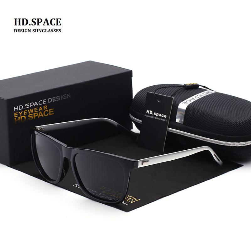 [해외]?HD.space 2017 편광 선글라스 남성용 마그네슘 선글라스 lunette de soleil 여성용 태양 안경 남성용/ HD.space 2017 polarized sunglasses men aluminum magnesium sunglasses lunette