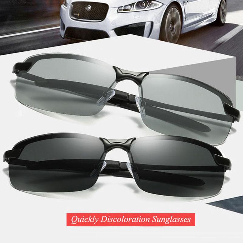 [해외]RoShari 남성용 최고 품질의 새로운 photochromic 선글라스 전천후 변색 전문 운전 Sun glasses men oculos D3043/RoShari New photochromic Sunglasses men top quality All-weather