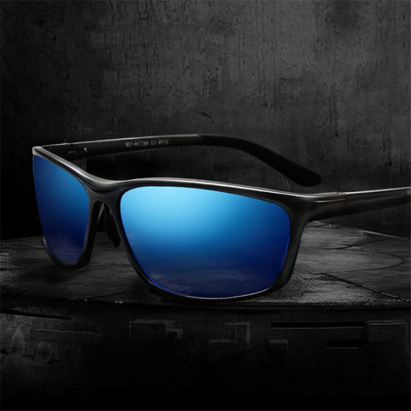 [해외]고급 알루미늄 렌즈 남성 편광 선글라스 EMI 방어 코팅 렌즈 클래식 브랜드 운전 음영 처방 선글라스/Quality aluminum magnes Men Polarized Sunglasses EMI Defending Coating Lens Classic Brand
