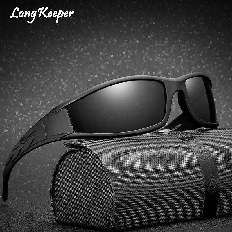 [해외]긴 파수꾼 남자를극화 된 색안경 최고 품질의 안경 Anti-Glare UV400 태양 안경 gafas de sol hombre polarizadas marca/Long Keeper Polarized Sunglasses For Men Top Quality Eyew
