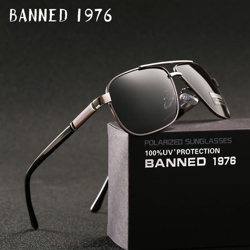 [해외]2018 신품 남성 & 남성 알루미늄 편광 안경 선글라스 거울 일요일 안경 스퀘어 고글 안경 액세서리 남성 여성 가발/2018 new Men&s Aluminum Polarized Mens Sunglasses Mirror Sun Glasses Square