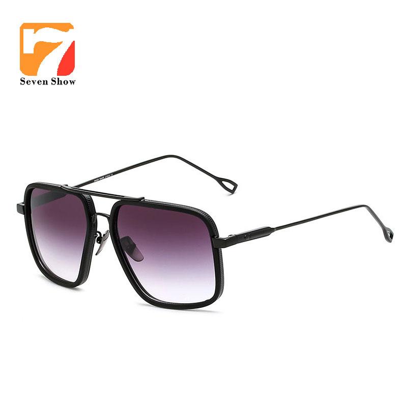 [해외]?큰 프레임 남자 여자 선글라스 빈티지 럭셔리 브랜드 골드 프레임 UV400 고품질 거울 운전 Oculos Gafas De Sol/ Big Frame Men Women Sunglasses Vintage Luxury Brand gold frame UV400 hig