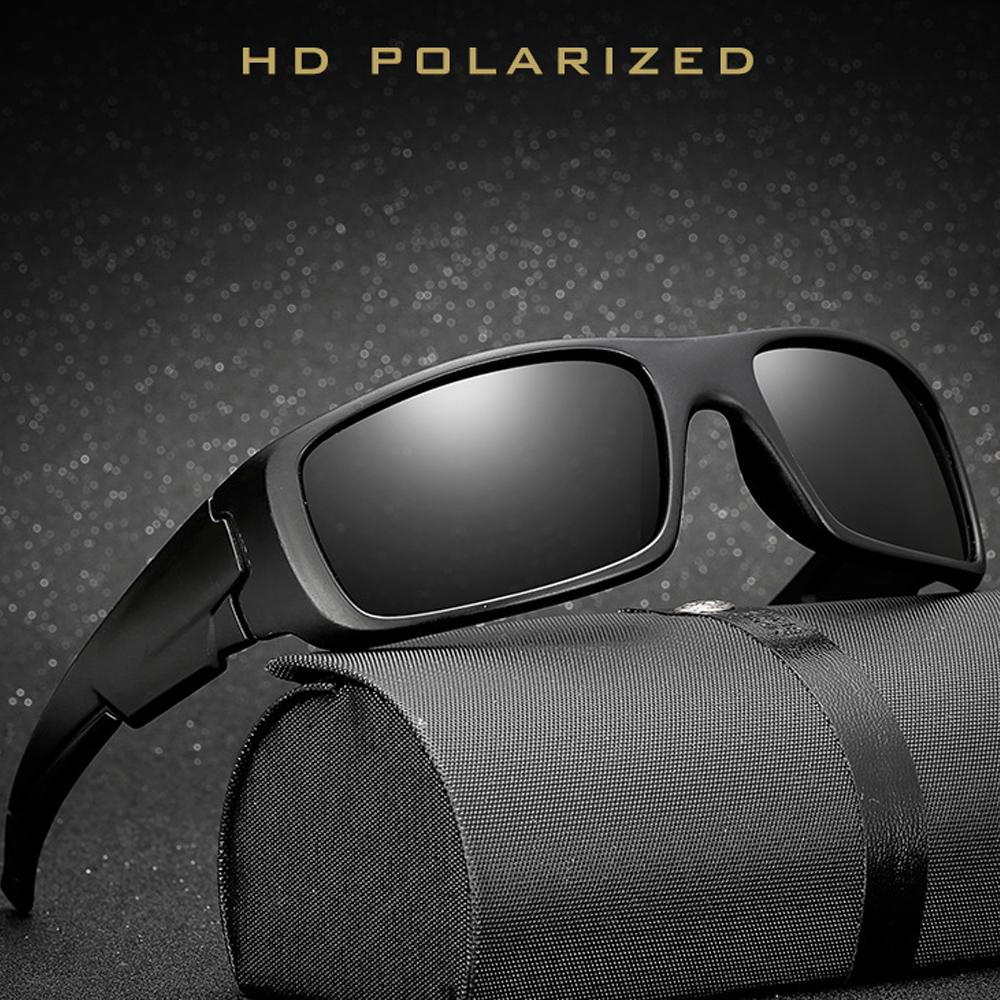 [해외]럭셔리 편광 선글라스 남자 여성 브랜드 디자이너 복고풍 운전 음영 남자 태양 안경 남자 광장 선글라스 거울 Oculos/Luxury Polarized Sunglasses Men Women Brand Designer Retro Driving Shades Male