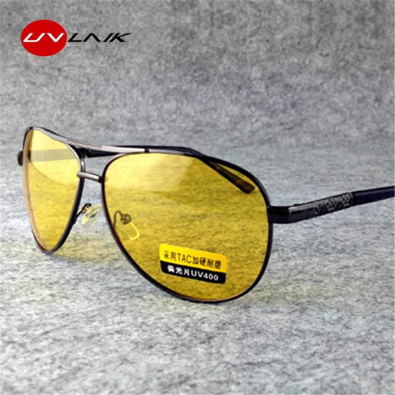 [해외]UVLAIK TAC HD 편광 선글라스 남성 여성 야간 운전 안경 고글 드라이버 옐로우 Sun Glasses UV400/UVLAIK TAC HD Polarized Sunglasses Men Women Night Vision Driving Glasses Goggl