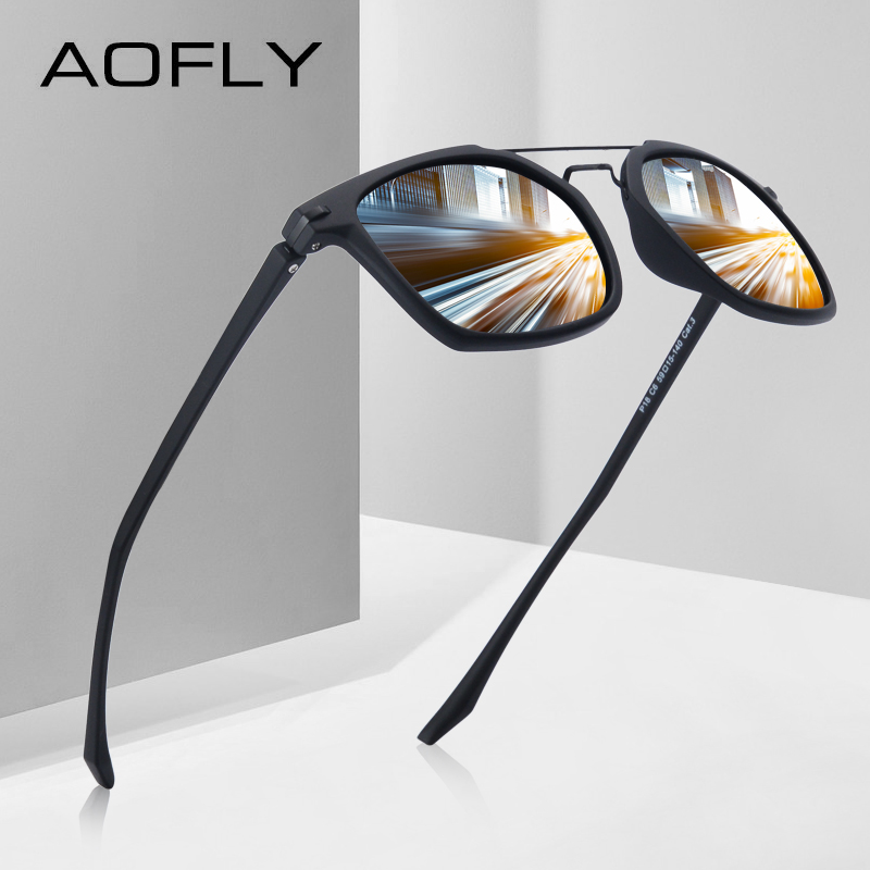 [해외]AOFLY BRAND DESIGN 클래식 편광 선글라스 남성용 TR90 프레임 선글라스 고글 UV400 Gafas Oculos De Sol AF8091/AOFLY BRAND DESIGN Classic Polarized Sunglasses Men Driving T