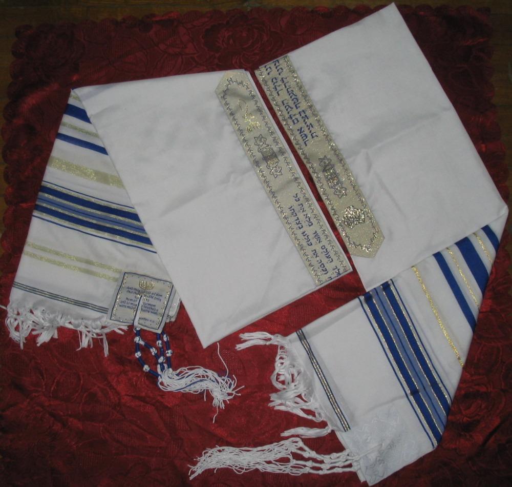 [해외]메시아 닉 유대인 Tallit Talit Prayer Shawl & amp; 탈리스 가방/Messianic Jewish Tallit Talit Prayer Shawl & Talis Bag