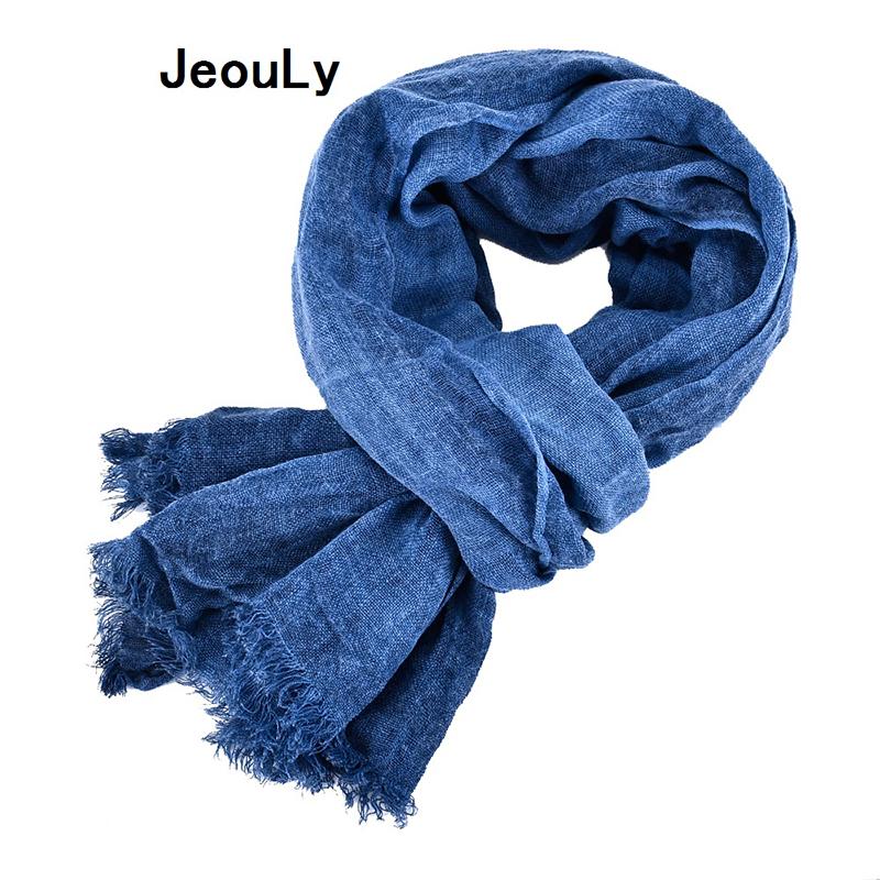 [해외]Jeouly 고체 Bufandas 남성 스카프 패션 브랜드 일반 스카프 봄 가을 따뜻한 소프트 숄면 술 스카프/Jeouly New Arrival solid Bufandas Mens Scarves Fashion Brand plain Scarf Spring Autu