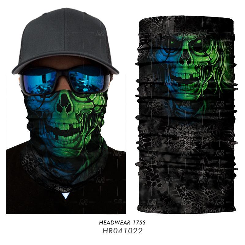 [해외]3D 해골 해골 해골 유령 조커 광대 Balaclava 튜브 목 스카프 페이스 마스크 자전거 Neckerchief 두건의 머리띠/3D Seamless Skull Skeleton Ghost Joker Clown Balaclava Tube Neck Scarf Fac